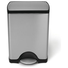 Contemporary Kitchen Trash Cans by Overstock.com