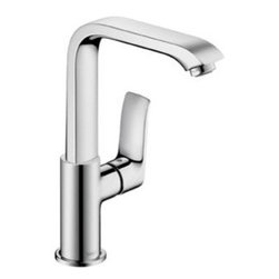 Hansgrohe Bathroom Faucets by Ibathtile - Solid brass faucet for 30% water savings.