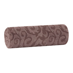 Howard Elliott - Howard Elliott Blur Pewter Bolster Pillow - Bolster pillow blur pewter