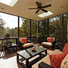 Traditional Porch by Tabor Design Build, Inc.