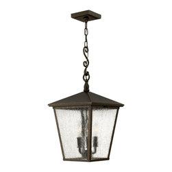 Hinkley Lighting - Hinkley Lighting 1432RB Trellis Lantern in Regency Bronze - Hinkley Lighting 1432RB Trellis Lantern in Regency Bronze
