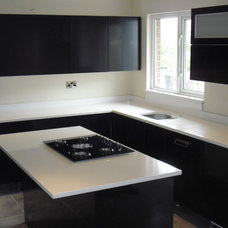Contemporary Kitchen Islands And Kitchen Carts by Cheshire Granite Worktops