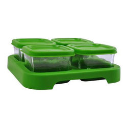 Green Sprouts - Green Sprouts Baby Food Glass Storage Cubes , 4 Pack - making your own baby food for your little one is an excellent way to make sure he or she only gets the best of everything at mealtime. With the Green Sprouts Baby Food Glass Storage Cubes.