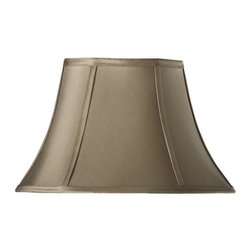 Home Decorators Collection - Home Decorators Collection Lamp Shades Bell Small 14 in. Diameter Grey Silk - Shop for Lighting & Ceiling Fans at The Home Depot. Available in an array of classic colors our Bell Silk Lamp Shade is the perfect accent to any lamp in your home. The silk blend construction and bell shape offer a classic look that will match virtually any decor. Order yours today.