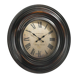 "Uttermost - Trudy Wall Clock 38"" - Elegant and a Best Seller the"
