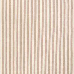 Jaipur - Jaipur Playa Cabana, Light Tan, White, 4' x 6' Rug - A playful take on a cabana stripe these wool flat-weave rugs can live from coast to coast. Vertical stripes can emphasize the length of a room.