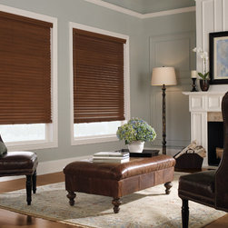"Levolor 2"" Premium Wood Blinds in Sedona - Levolor 2"" Premium Real Wood Blinds bring the warmth, beauty and elegance of nature into your home. You will be able to choose from an exciting range of styles, finishes and colors to ensure these Levolor wood blinds match your home decor exactly."