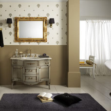 Traditional Bathroom Vanities And Sink Consoles by Italian Kitchen and Bath