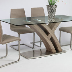 Pastel - 5-Piece Rectangular Dining Set - Includes dining table and four side chairs
