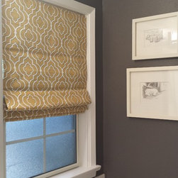 Roman Shades - Flat Roman Shades by P&D Window Fashions