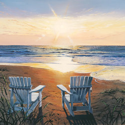 Murals Your Way - Days End Duo Wall Art - Painted by Scott Westmoreland, the Days End Duo wall mural from Murals Your Way will add a distinctive touch to any room