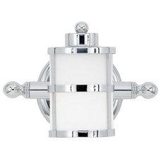 Caged Cylinder Bath Light - 1 Lt. - Shades of Light
