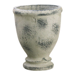 Silk Plants Direct - Silk Plants Direct Footed Terra Cotta Urn (Pack of 3) - Silk Plants Direct specializes in manufacturing, design and supply of the most life-like, premium quality artificial plants, trees, flowers, arrangements, topiaries and containers for home, office and commercial use. Our Footed Terra Cotta Urn includes the following:
