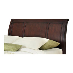 Home Styles - Home Styles Lafayette Sleigh Headboard-Queen - Full - Home Styles - Headboards - 5537501 - An opulence of design heightens the allure of the Lafayette Bedroom collection. Lafayette Sleigh Headboard by Home Styles is inspired by Ancestral traditional design.