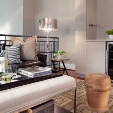 Modern Family Room by Jenkins Baer Associates