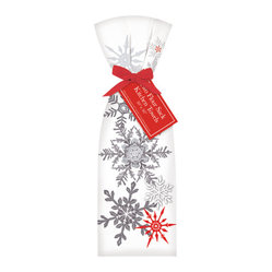 Snowflakes Towel, Set of 2