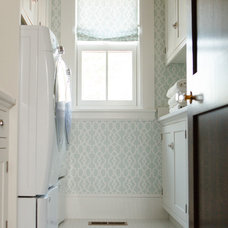 Traditional Laundry Room by Caitlin Wilson