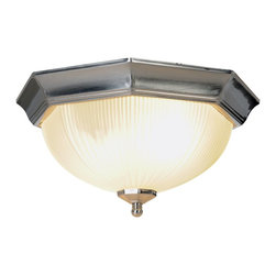 Premier Faucet - 15 inch Ceiling Light - Brushed Nickel - AF Lighting 617033 13in. D by 7in. H Decorative Ceiling Fixture, Brushed Nickel.