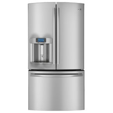 Contemporary Refrigerators And Freezers by GE Appliances