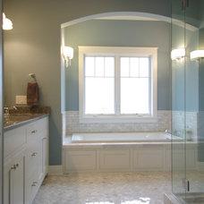 Traditional Bathroom by Highland Builders LLC