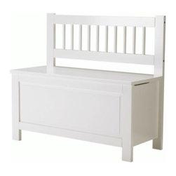 Filippa Eneroth - HEMNES Storage bench - Storage bench, white