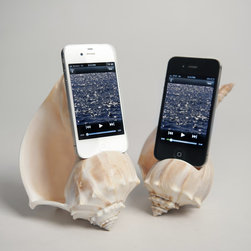 Shellphone Loudspeaker - I love, love, love this iPhone amplifier. Have a small tea party with the girls and play music with this in the background.