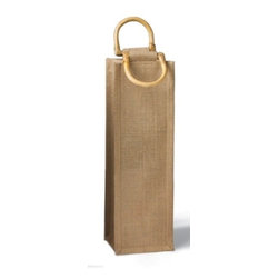 Franmara - Brown Burlap Jute Vino-Sack for One Wine Bottle with Handles - This gorgeous Brown Burlap Jute Vino-Sack for One Wine Bottle with Handles has the finest details and highest quality you will find anywhere! Brown Burlap Jute Vino-Sack for One Wine Bottle with Handles is truly remarkable.