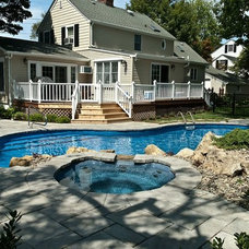 """Traditional Swimming Pools And Spas by Deck and Patio Company """"Outdoor Living Experts"""""""