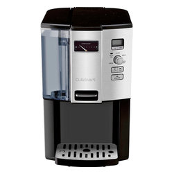Cuisinart - Cuisinart Coffee on Demand 12-Cup Programmable Coffeemaker - Dispenser light comes on when lever is pressed to fill up cup