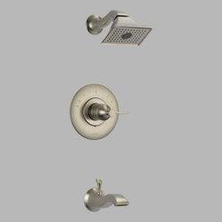 Brizo - Brizo - RSVP: Pressure Balance Tub And Shower Trim - T60P490-BN - Brushed Nickel Finish