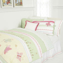 Whistle & Wink - Butterfly Party Twin Quilt - Butterfly Party Twin Quilt