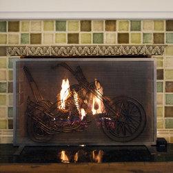 River Hills Gas Fireplace - River Hills fireplace refresh.