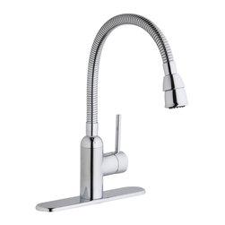 Elkay - Elkay Pursuit Laundry Faucet with Flexible Spout, Chrome (LK2500CR) - Elkay LK2500CR Pursuit Laundry Faucet with Flexible Spout, Chrome