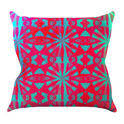"Kess InHouse - Alison Coxon ""Aloha"" Throw Pillow (20"" x 20"") - Rest among the art you love. Transform your hang out room into a hip gallery, that's also comfortable. With this pillow you can create an environment that reflects your unique style. It's amazing what a throw pillow can do to complete a room. (Kess InHouse is not responsible for pillow fighting that may occur as the result of creative stimulation)."