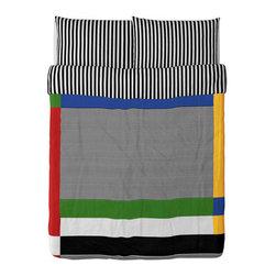 IKEA of Sweden - TVÅBLAD Duvet cover and pillowcase(s) - Duvet cover and pillowcase(s), multicolor