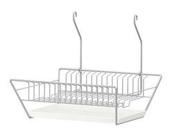 Julia Treutiger - BYGEL Dish drainer - Dish drainer, silver color
