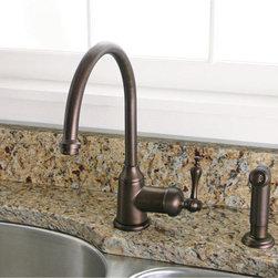 Kitchen Faucet w/ Spray - Premier Lead-Free Wellington Kitchen Faucet w/ Spray