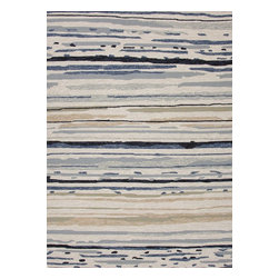 "Jaipur - Indoor/Outdoor Colours 7'6""x9'6"" Rectangle Classic Gray-Classic Gray Area Rug - The Colours area rug Collection offers an affordable assortment of Indoor/Outdoor stylings. Colours features a blend of natural Classic Gray-Classic Gray color. Hand Hooked of Polypropylene the Colours Collection is an intriguing compliment to any decor."