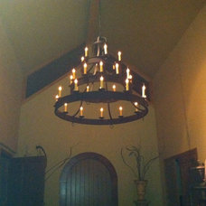 Mediterranean Chandeliers by SAND DOLLAR LIGHTING DESIGN