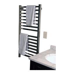 Amba - Amba Quadro Q-2042 Series Collection Towel Warmer - Dual-purpose radiator functions as towel warmer and space heater