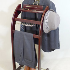 Clothes And Shoes Organizers Windsor Signature Valet Stand Mahogany