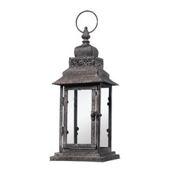 Sterling Industries - Sterling Industries 128-1010 Distressed Hurricane Lantern - Specifications: