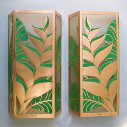 Shop Tropical Wall Sconces on Houzz