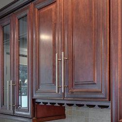 Mahogany Maple Wall Cabinets -