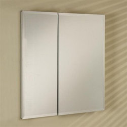 "Afina - Afina DD3121RBRD-BV-D Broadway Double Door Frameless Medicine Cabinet with a Bev - Afina-DD3121RBRD-BV-D Broadway Double Door Frameless Medicine Cabinet with a Beveled Edge (31"" x21"")Afina Corporation is a manufacturer and importer of fine Batch Cabinetry, Decorative Mirrors and Accessories for the bath environment. Afina offers many unique products to suit your decorative and practical needs.The Broadway collection offers a variety of mirrors to suit your needs. Available as single, double or triple door; and in various sizes they are very appealing for those looking to add modern styling in their bathroom. These cabinets are well made with a durable anodized aluminum construction and European hinges.Afina-DD3121RBRD-BV-D Broadway Double Door Frameless Medicine Cabinet with a Beveled Edge (31"" x21""), Features:• Cabinet body is satin anodized aluminum 4? deep"