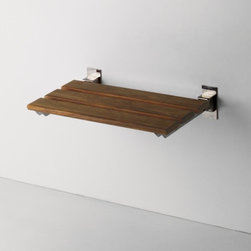 Teak Shower Bench - Classic shower bench in teak for the well appointed walk in shower.