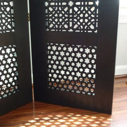 Moroccan-style room divider -