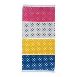 Sunnylife Ipanema Beach Towel - What's not to love about polka dots? This pretty towel features four different stripes and polka dots for a chic look. I wish I could get this super cute pattern in a duvet cover!