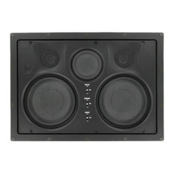 """InwallTech - InwallTech High Definition HD525.1LCR 5 1/4"""" Dual Kevlar LCR Theater Speakers - The woofers are made from Kevlar and the tweeters made of titanium. In combination, they blend superbly to produce rich, accurate sound reproduction. Kevlar/Titanium combination's are widely found in far more expensive high end speakers that for years were out of reach of the everyday homeowner."""