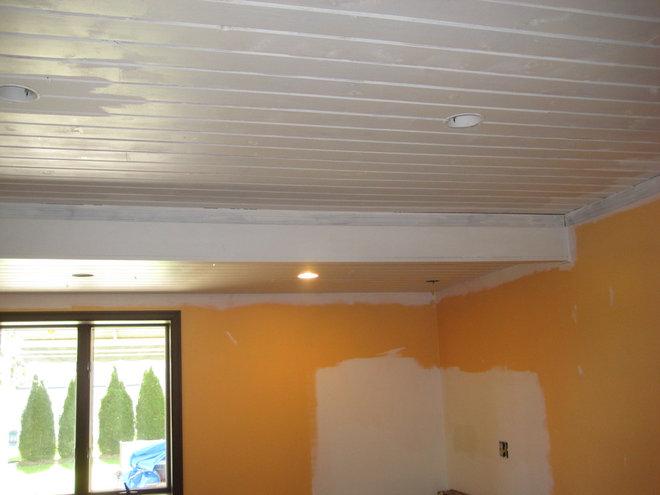 DWR Living Room sweeps - design process photos